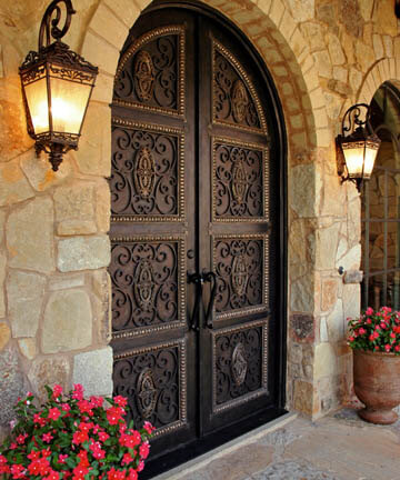 Merveilleux Hand Forged Iron Doors